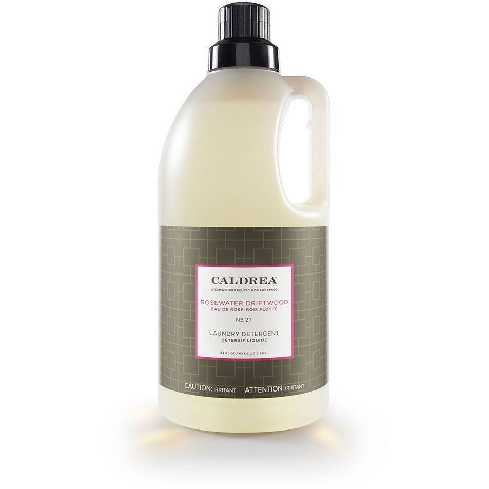 Caldrea Rosewater Driftwood Laundry Detergent 64oz - Natural Bath Body USA 19330-CAL - ArtsiHome