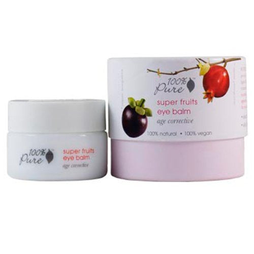 100% Pure Super Fruits Eye Balm - 0.35 oz - ArtsiHome