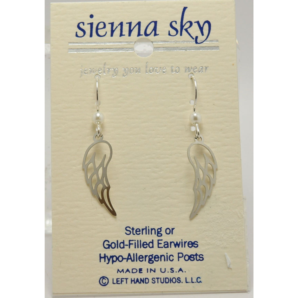 Sienna Sky IR Angel Wings Earrings - ArtsiHome