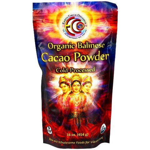 Raw Organic Kosher Balinese Cacao Powder 16 Ounces - ArtsiHome