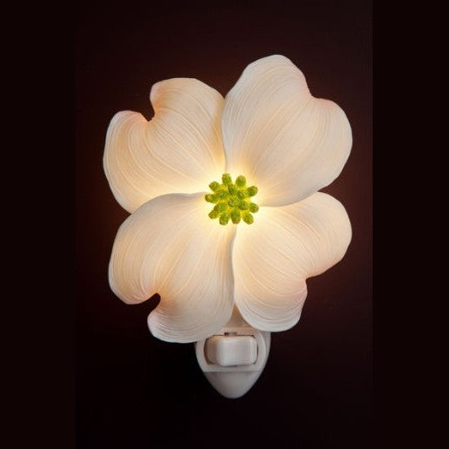 Ibis & Orchid Dogwood Night Light - ArtsiHome