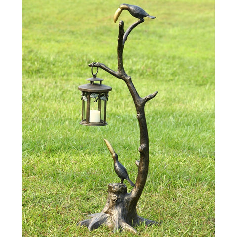 SPI Garden Collection Toucan Pair Lantern - ArtsiHome