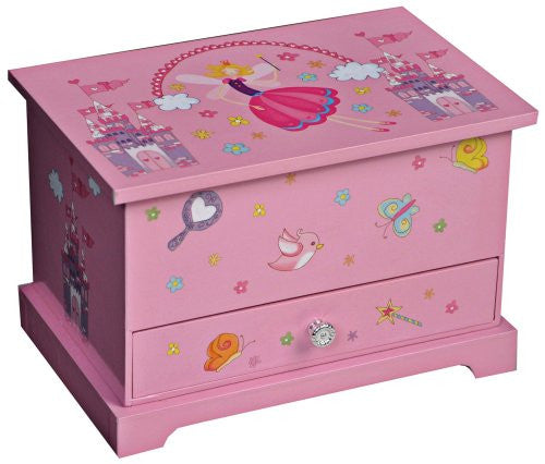 Mele and Co Kerri Musical Dancing Fairy Jewelry Box - 7.75W x 5.25H