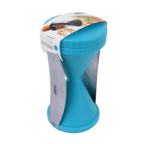 GEFU Spirelli Spiral Food Slicer in Blue - ArtsiHome