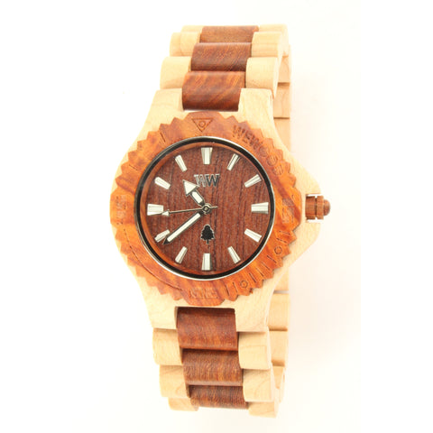 WeWOOD DATE Men's Watch (Beige Brown) - ArtsiHome - WeWood - 1