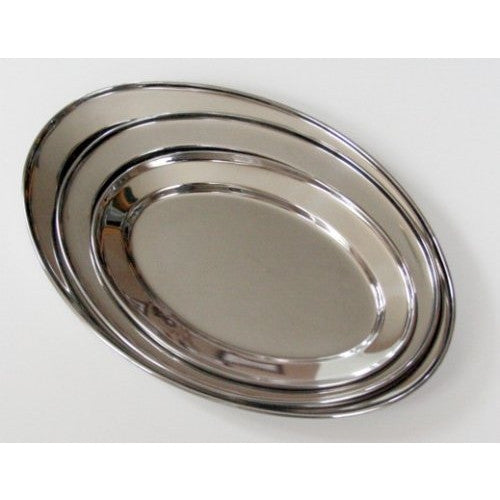 Libertyware Stainless Steel Oval Serving Set (3 Pieces) - ArtsiHome