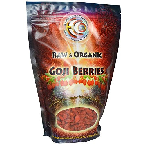 Earth Circle Organics - Tibetan Goji Berries - 1 lb. - ArtsiHome