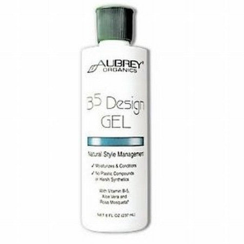 Aubrey Organics 8 oz. B-5 Design Hair Gel - ArtsiHome