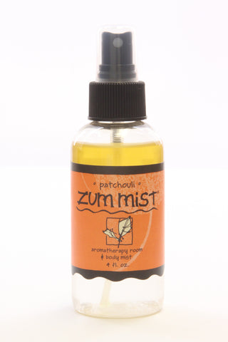 Zum Mist Aromatherapy Room and Body Spray Patchouli -- 4 fl oz - ArtsiHome - Indigo Wild - 1