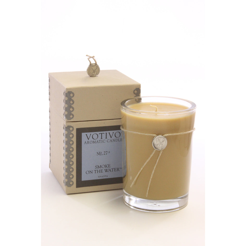Votivo Aromatic Candle Smoke On The Water - ArtsiHome - Votivo - 1