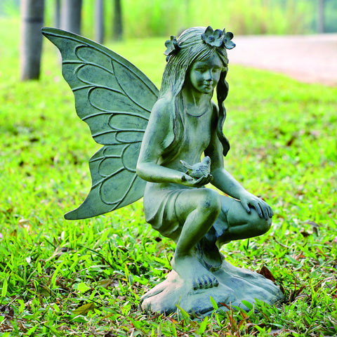SPI Garden Collection Fairy Garden Sculpture - ArtsiHome