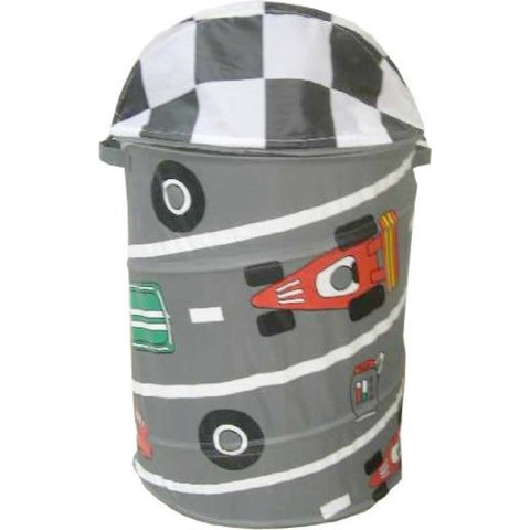 Innovative Home Creations Race Car Pop-Up Laundry Hamper - ArtsiHome