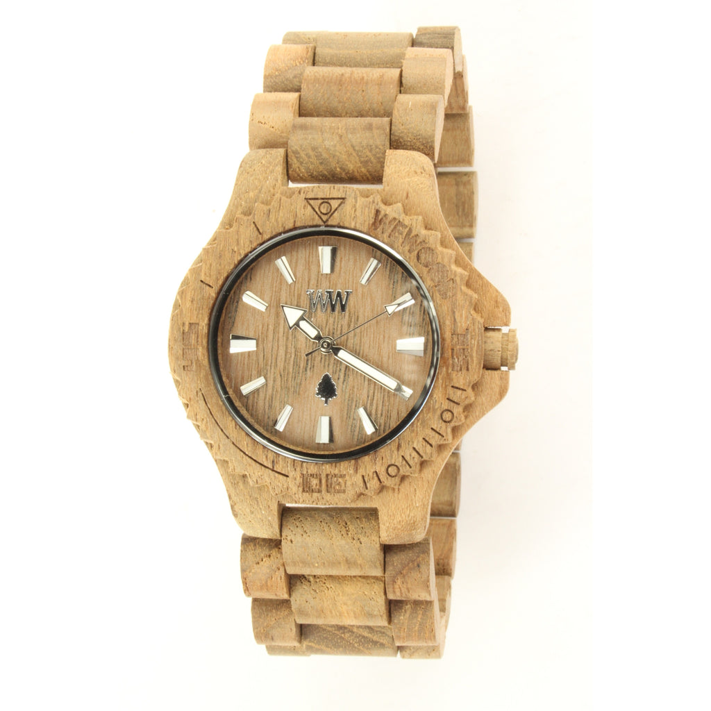 WeWOOD DATE Men's Watch (Teak) - ArtsiHome - WeWood - 8