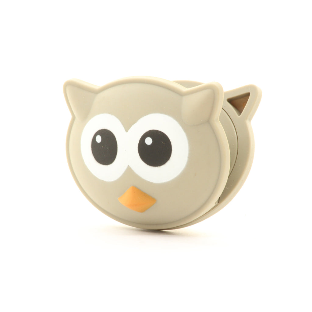 Kikkerland Talking Bag Clip Owl Kitchen Chip Chips - ArtsiHome