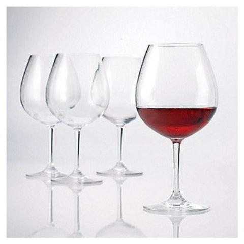 Polycarbonate Red Wine Glasses (Set of 4 ) - 22 oz - ArtsiHome
