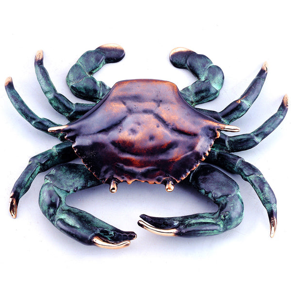 SPI Solid Brass Crab Doorknocker - ArtsiHome