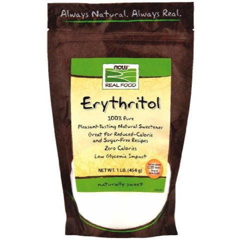 Now Foods Erythritol Natural Sweetener 1 LB (Pack of 2) - ArtsiHome