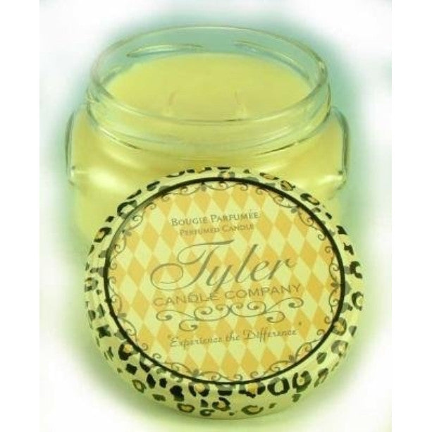 Fearless Tyler 11 oz Medium Scented 2-Wick Jar Candle - ArtsiHome