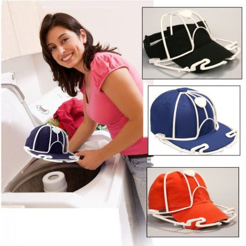 Ball Cap Washer - Set of 3 (Assorted - black or white) (12