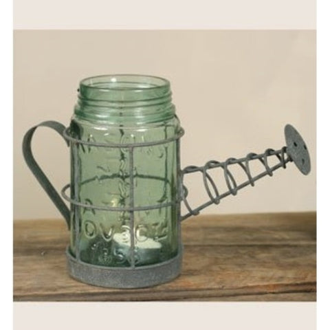 Watering Can Mason Jar Holder - ArtsiHome - Colonial Tin Works