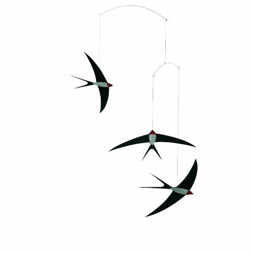 Flensted Mobiles Nursery Mobiles, Swallow Mobile - ArtsiHome