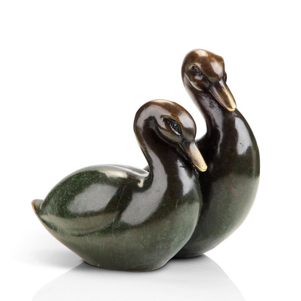 SPI Home Collection Contemporary Duck Pair Statue - ArtsiHome - SPI Home