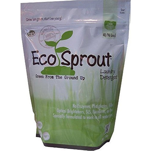 Eco Sprout Laundry Detergent (48/96 loads, In the Bluff (unscented)) - ArtsiHome
