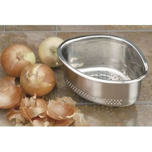 Endurance In-Sink Stainless Steel Corner Basket - ArtsiHome