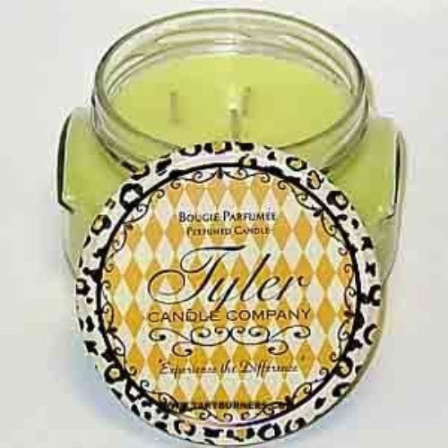Tyler Two Wicks Glass Candle Hippie Chick - 22 oz - ArtsiHome - Tyler