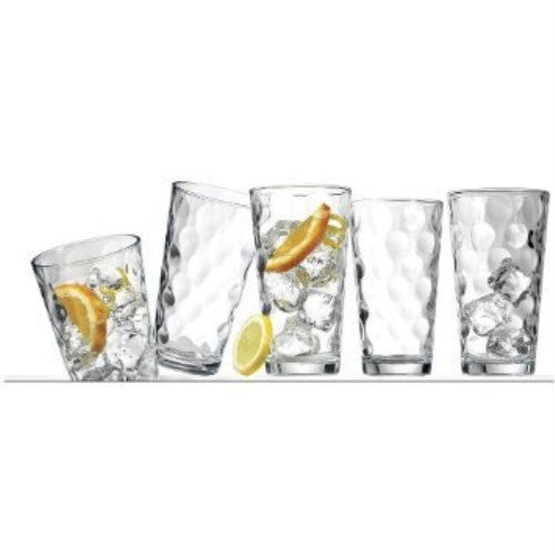Home Essentials Solar 7Oz Juice Glass, Set Of 4 - ArtsiHome