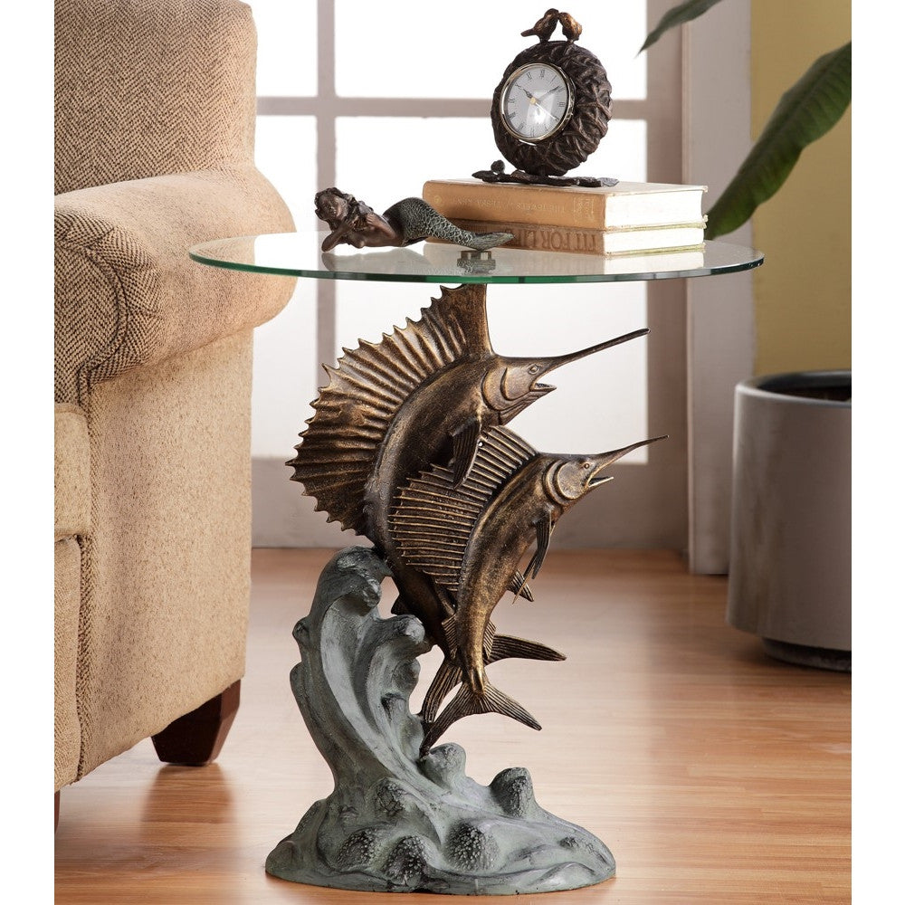 SPI Home Collection Marlin & Sailfish Table - ArtsiHome