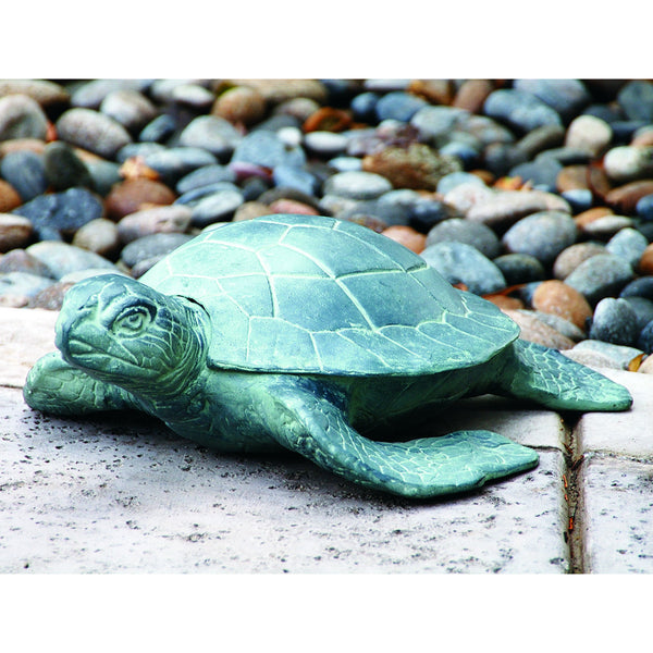 SPI Garden Collection Aluminum Garden Turtle - ArtsiHome