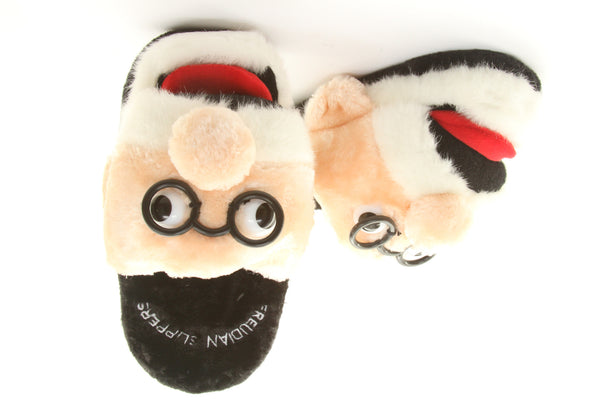 Plush and Soft Pair of Freudian Slippers - Small - ArtsiHome