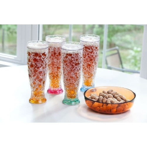 Cypress Home Gel Freezer Pilsner (Set of 4) - ArtsiHome