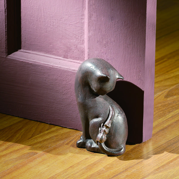 Cat & Mice Door Stop - ArtsiHome