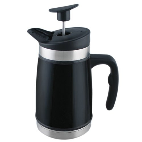 Planetary Designs Black Thermal French Coffee / Tea Press 5 Cup - ArtsiHome