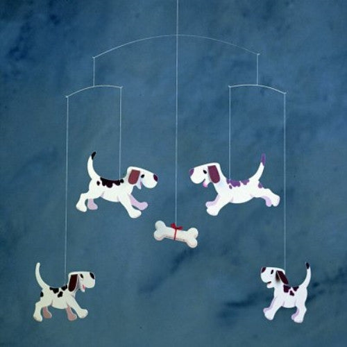 Flensted Mobiles Nursery Mobiles, Doggy Dreams - ArtsiHome