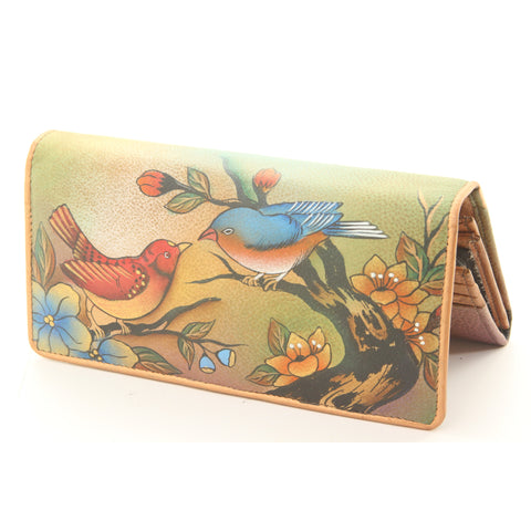 UnAssigned Genuine Leather Hand-Painted Wallet - ArtsiHome - Anuschka - 5