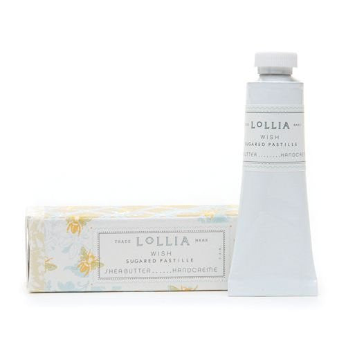 LoLLIA Petite Treat Shea Butter Handcreme, Wish .33 oz (9.4 g) - ArtsiHome