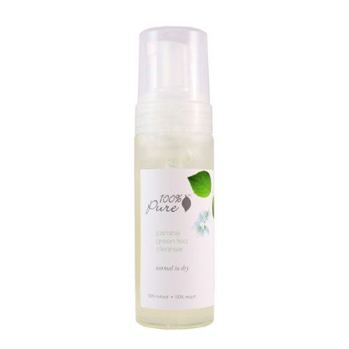 100 Percent Pure Jasmine Green Tea Cleanser 6 oz. - ArtsiHome
