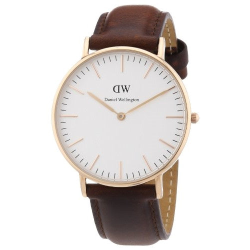 Daniel Wellington Lady's Classic St. Andrews Rose Gold Watch - ArtsiHome