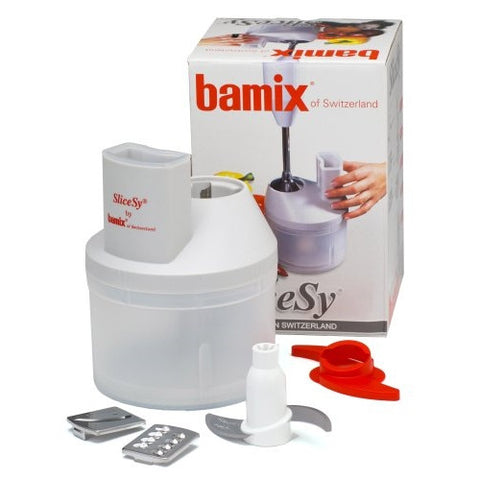 Bamix SliceSy Food Processor Attachment for Immersion Blender - ArtsiHome