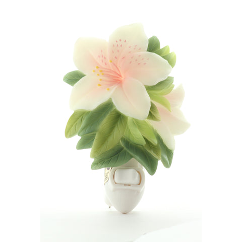 Azalea Night Light, Ibis & Orchid Nightlights, NIB, 50042 - ArtsiHome