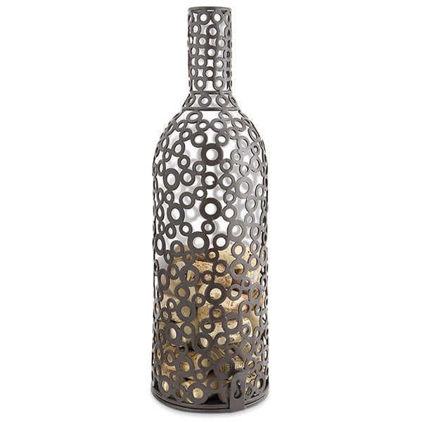 Epic Products Beautiful Encircle Wine Bottle Cork Cage - ArtsiHome
