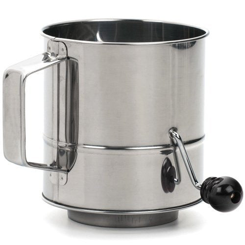 Endurance® Crank Style Flour Sifter – 3 cup - ArtsiHome