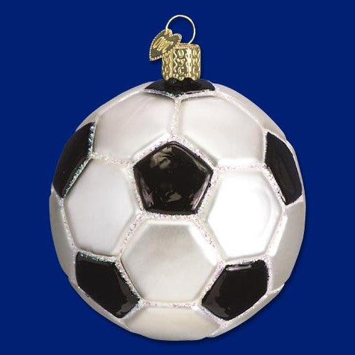 Old World Christmas Soccer Ball Ornament - ArtsiHome