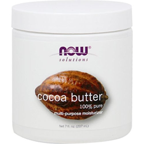 NOW Foods Cocoa Butter, 7 oz - ArtsiHome