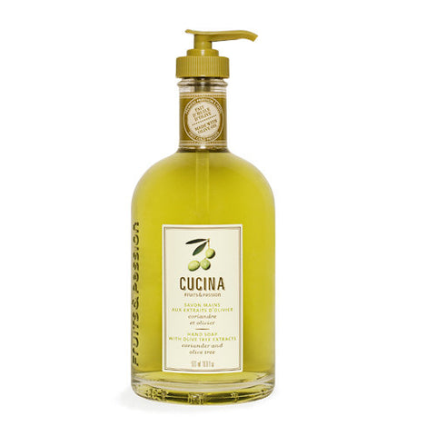 Cucina Purifying Hand Wash- Coriander and Olive Oil 16.9oz - ArtsiHome