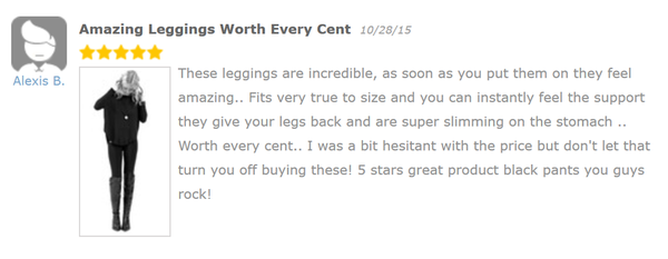 AMAZING LEGGINGS WORTH EVERY CENT