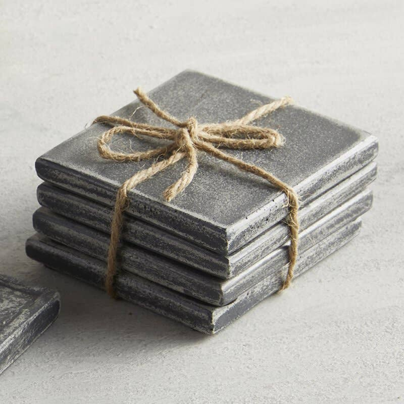 Concrete Coasters Set/4